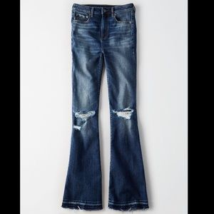Highest rise flare jean AE